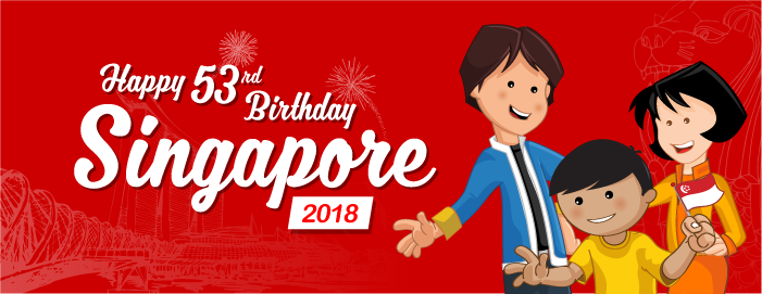 Happy 53rd Birthday Singapore