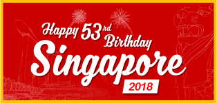 Happy 53rd Birthday Singapore 2018