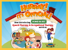 Home Based Speech and Occupational Therapy