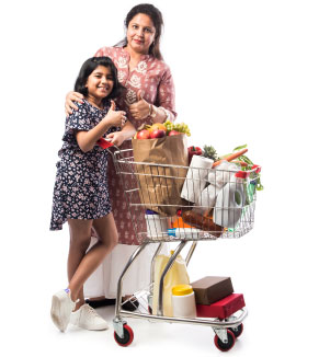 Doing your groceries with Children