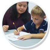 DIS student writing