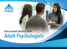 Discounted Session with Adult Psychologists